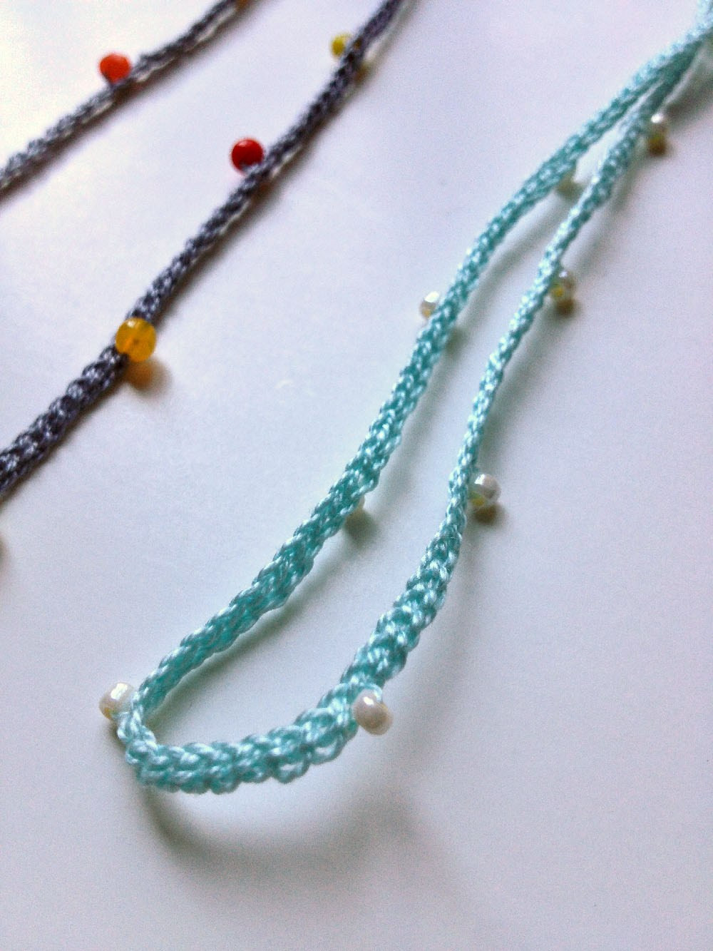 Crochet Beaded Necklace New Crochet Necklace Diy Wise Craft Handmade Of Contemporary 43 Images Crochet Beaded Necklace