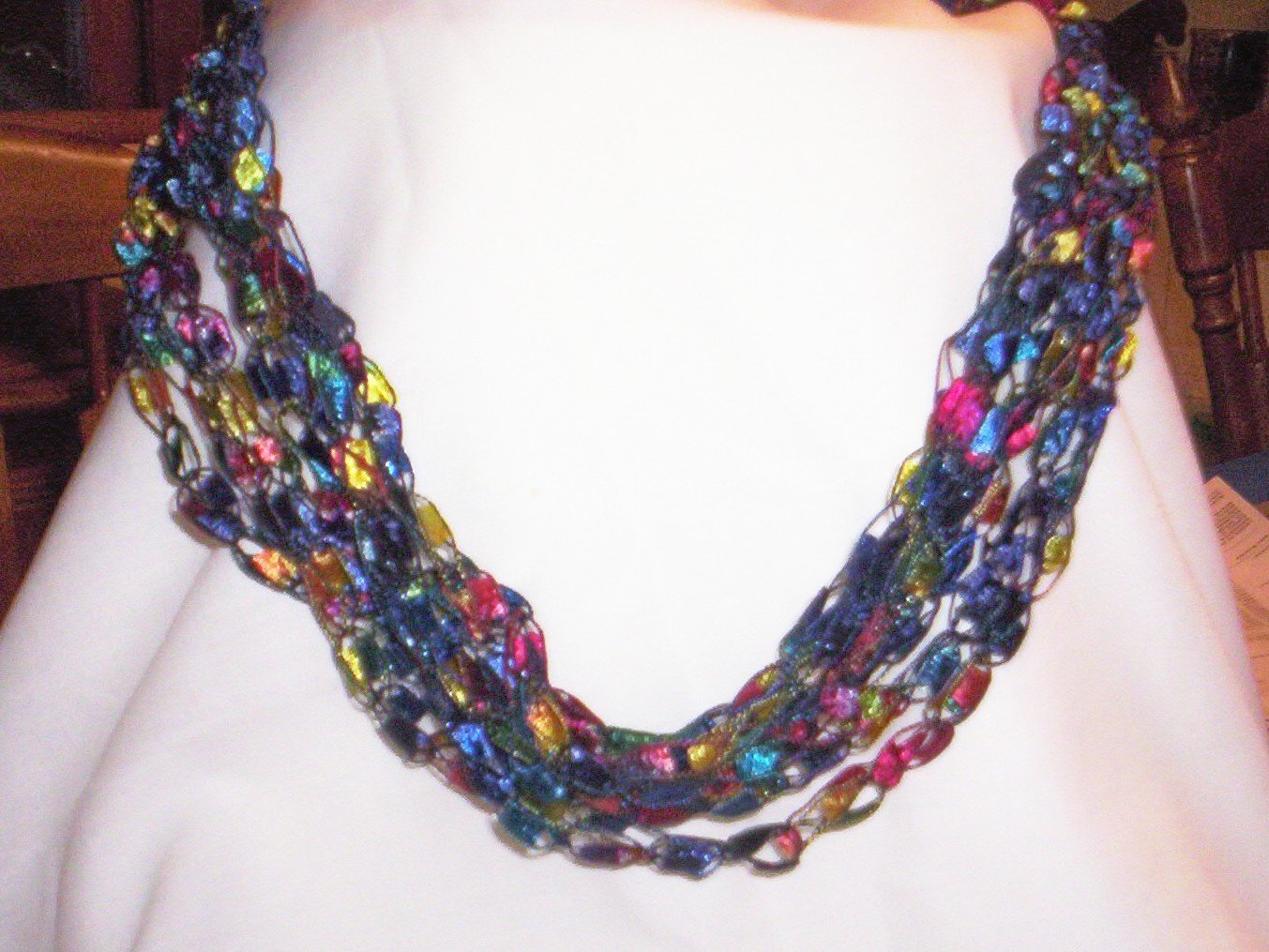 Crochet Beaded Necklace Unique 25 Cool Crochet Necklace Patterns Of Contemporary 43 Images Crochet Beaded Necklace