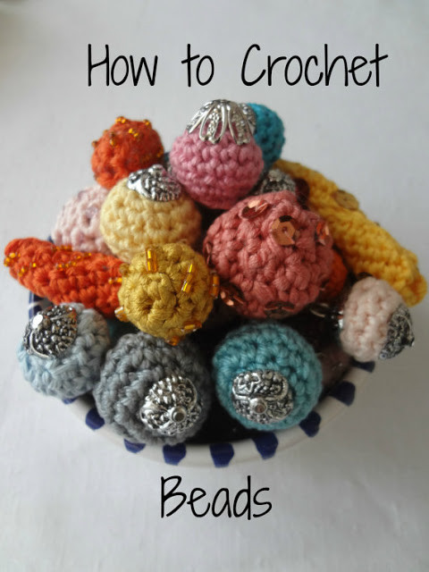 Crochet Beads Fresh Little Treasures How to Make Crocheted Beads Of Awesome 41 Ideas Crochet Beads