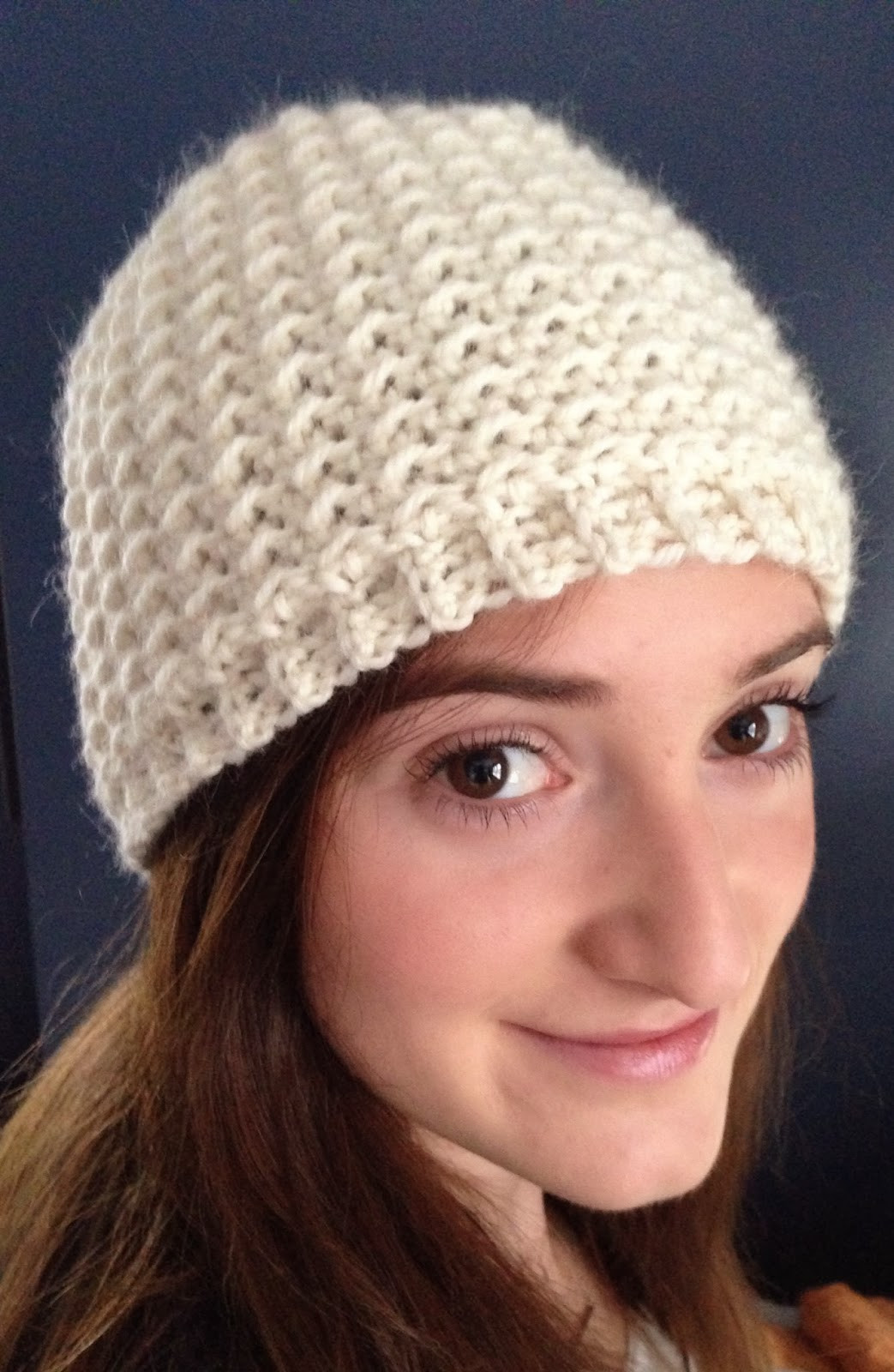 Crochet Beanie Hat Awesome Ball Hank N Skein Oh so Seedy Beanie Free Crochet Hat Of New 50 Images Crochet Beanie Hat