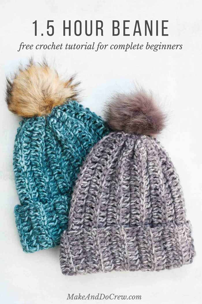 Crochet Beanie Pattern New E Hour Free Crochet Hat Pattern for Beginners Video Of Luxury 43 Pics Crochet Beanie Pattern