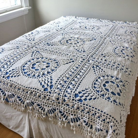 Crochet Bedspread Best Of 25 Bästa Crochet Bedspread Idéerna På Pinterest Of Unique 38 Pics Crochet Bedspread