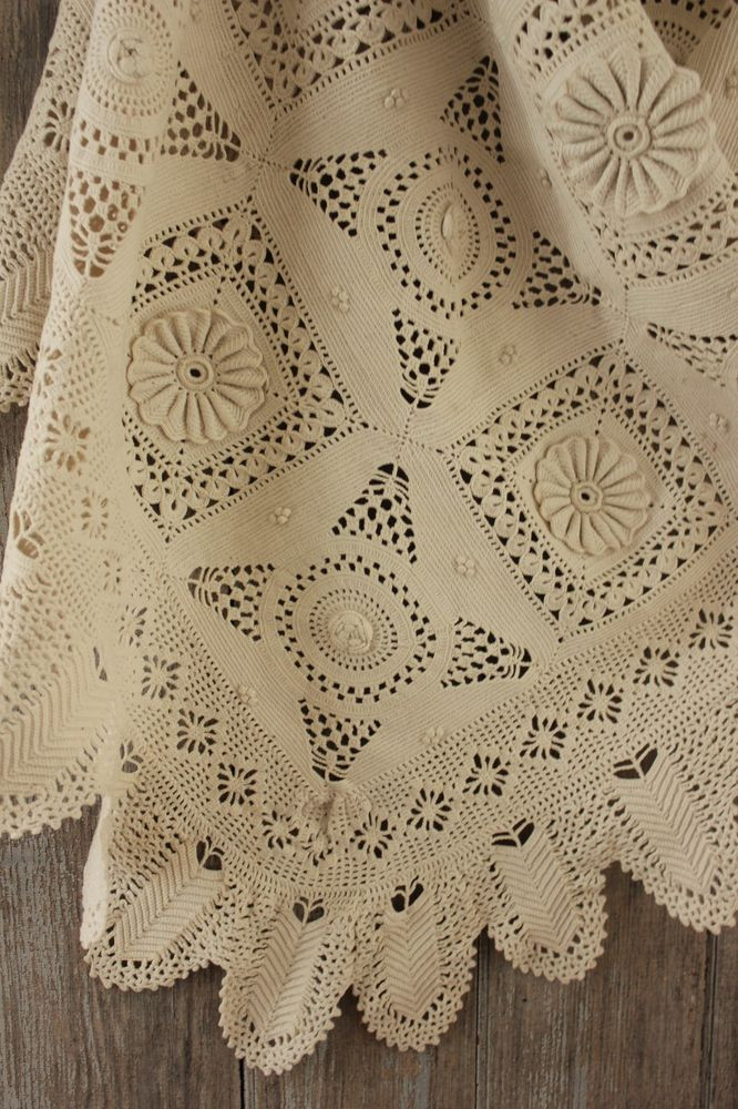 Crochet Bedspread Inspirational Antique Vintage French Bedcover Coverlet Crochet Lace Of Unique 38 Pics Crochet Bedspread