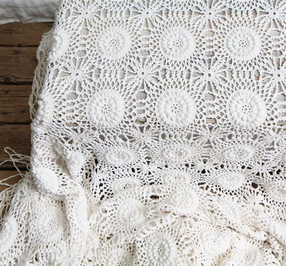 17 Best images about Crochet Bedspreads Vintage on