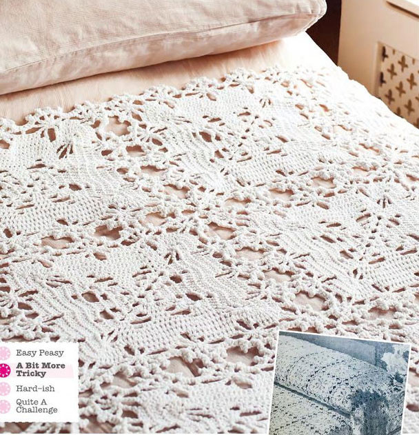 Crochet Bedspread Patterns Awesome Vintage Bedspread Crochet Pattern ⋆ Crochet Kingdom Of Top 48 Photos Crochet Bedspread Patterns