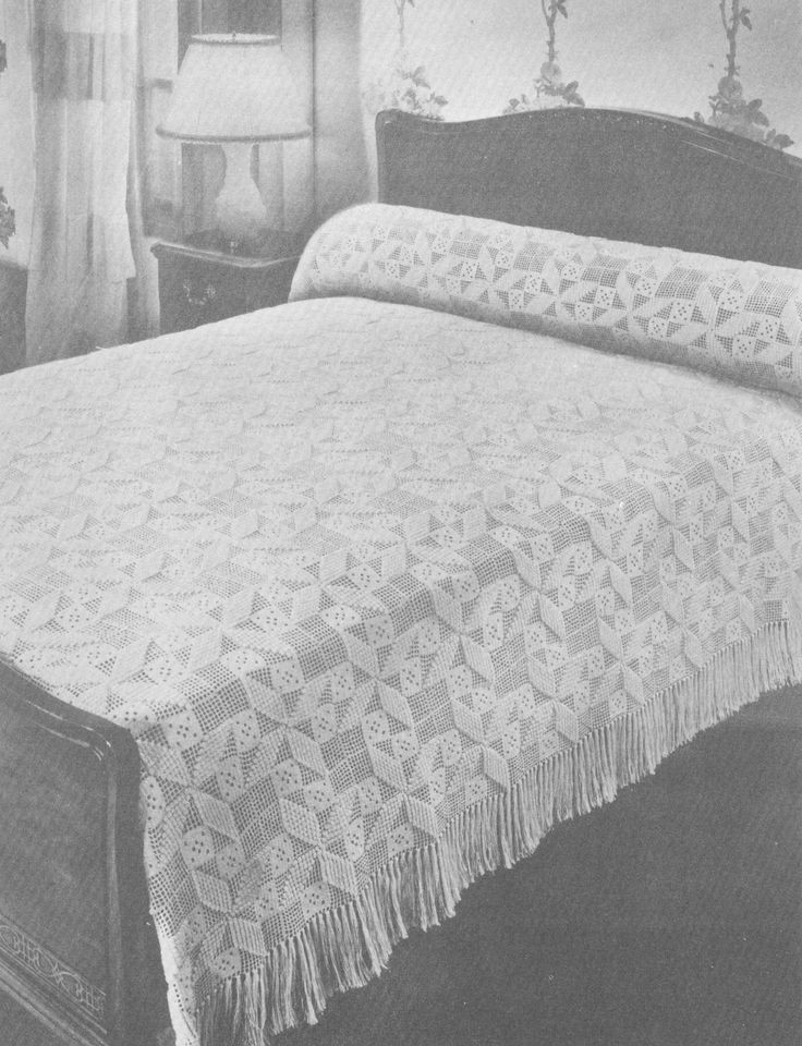 Crochet Bedspread Patterns Beautiful 17 Best Images About Crocheted Bedspreads On Pinterest Of Top 48 Photos Crochet Bedspread Patterns