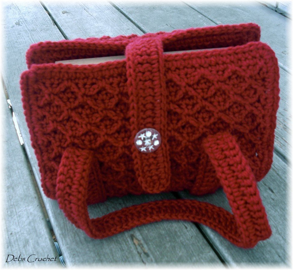 Crochet Bible Cover Awesome Bible Book Cover tote Adjustable Maroon Crochet Of Wonderful 48 Models Crochet Bible Cover
