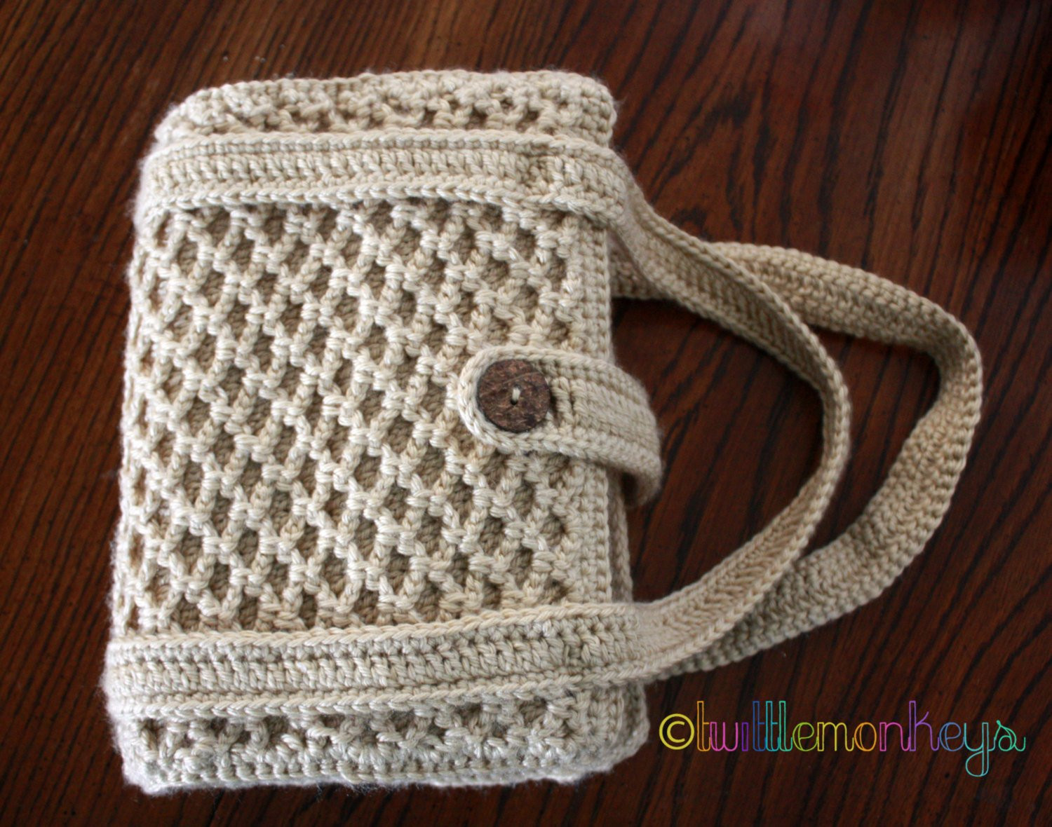Crochet Bible Cover Elegant Crochet Bible Book Cover tote Lattice Stitched by Of Wonderful 48 Models Crochet Bible Cover