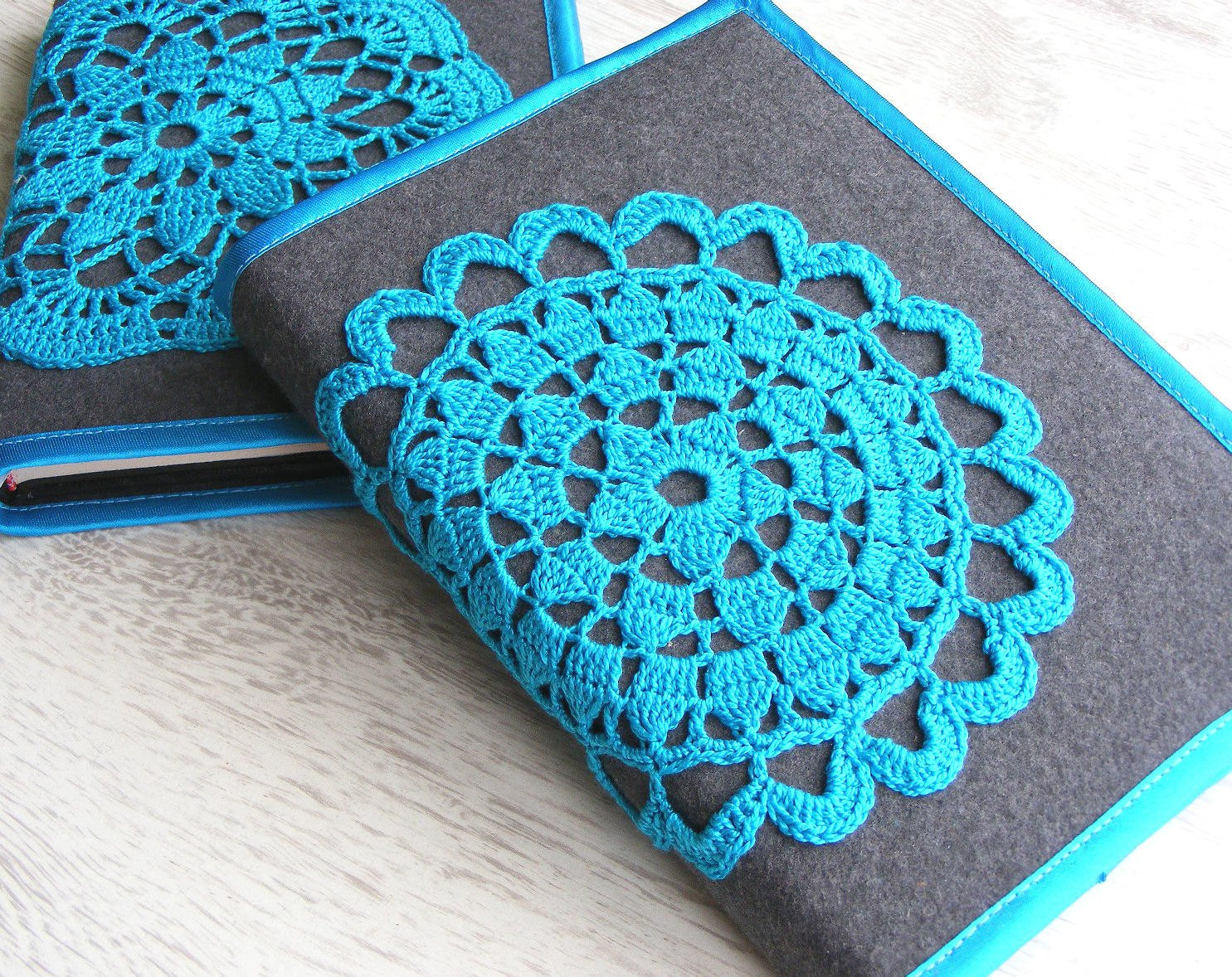 Crochet Bible Cover Elegant Notebook Cover with Crochet Motif Crocheted Journal Cover Of Wonderful 48 Models Crochet Bible Cover