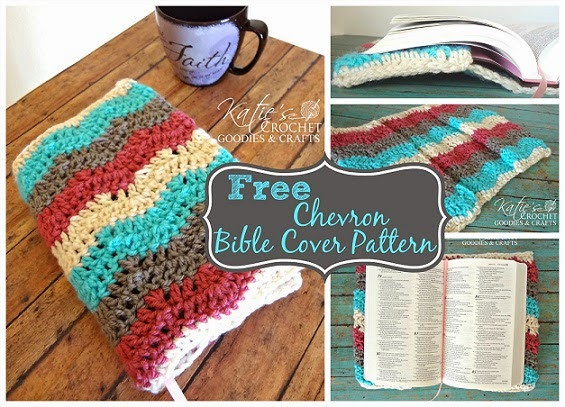 Crochet Bible Cover Inspirational How to Add Straight Edges to Chevron Katie S Crochet Goo S Of Wonderful 48 Models Crochet Bible Cover