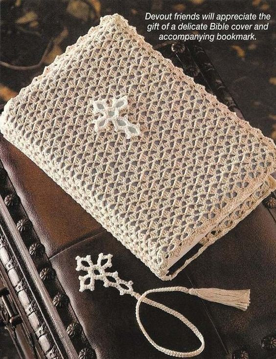 Crochet Bible Cover Lovely Crochet Bible Cover with Bookmark Bookmarks Of Wonderful 48 Models Crochet Bible Cover