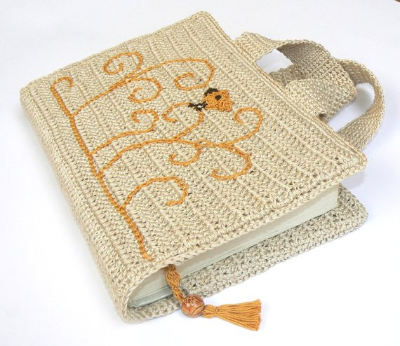 Crochet Bible Cover New Items Similar to Book Cover Bible Cover Carry Book Cover Of Wonderful 48 Models Crochet Bible Cover