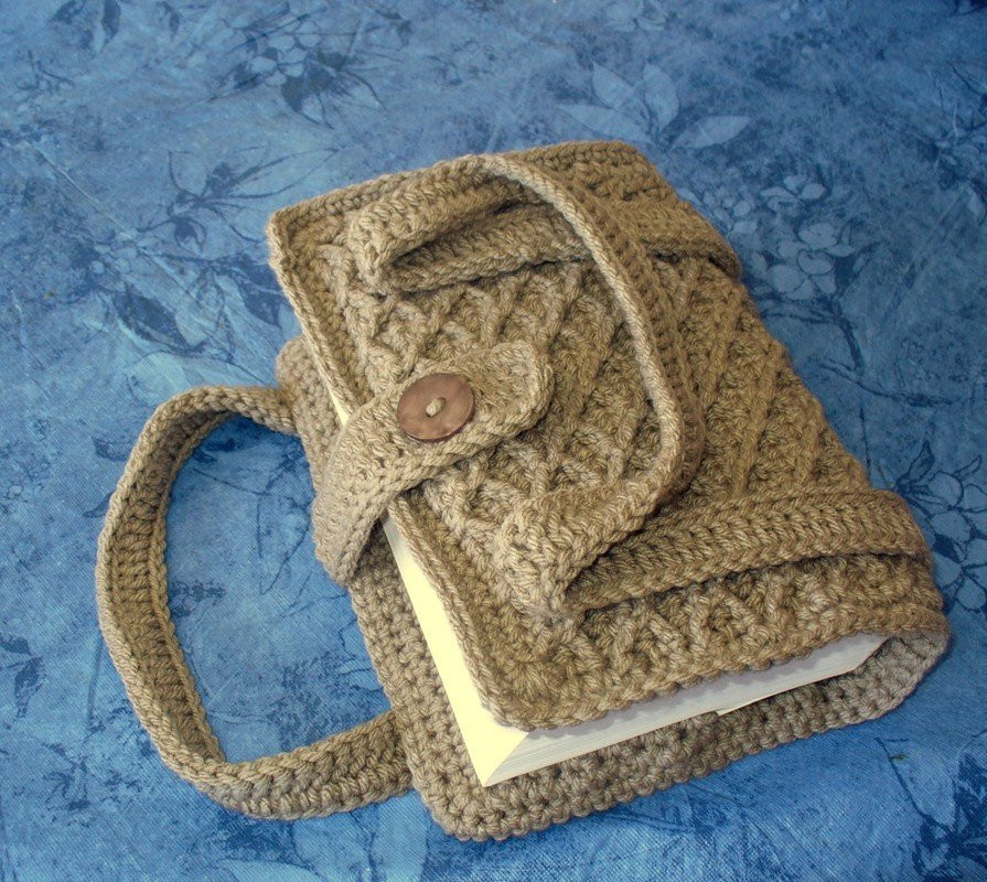 Crocheted Book Bible Cover