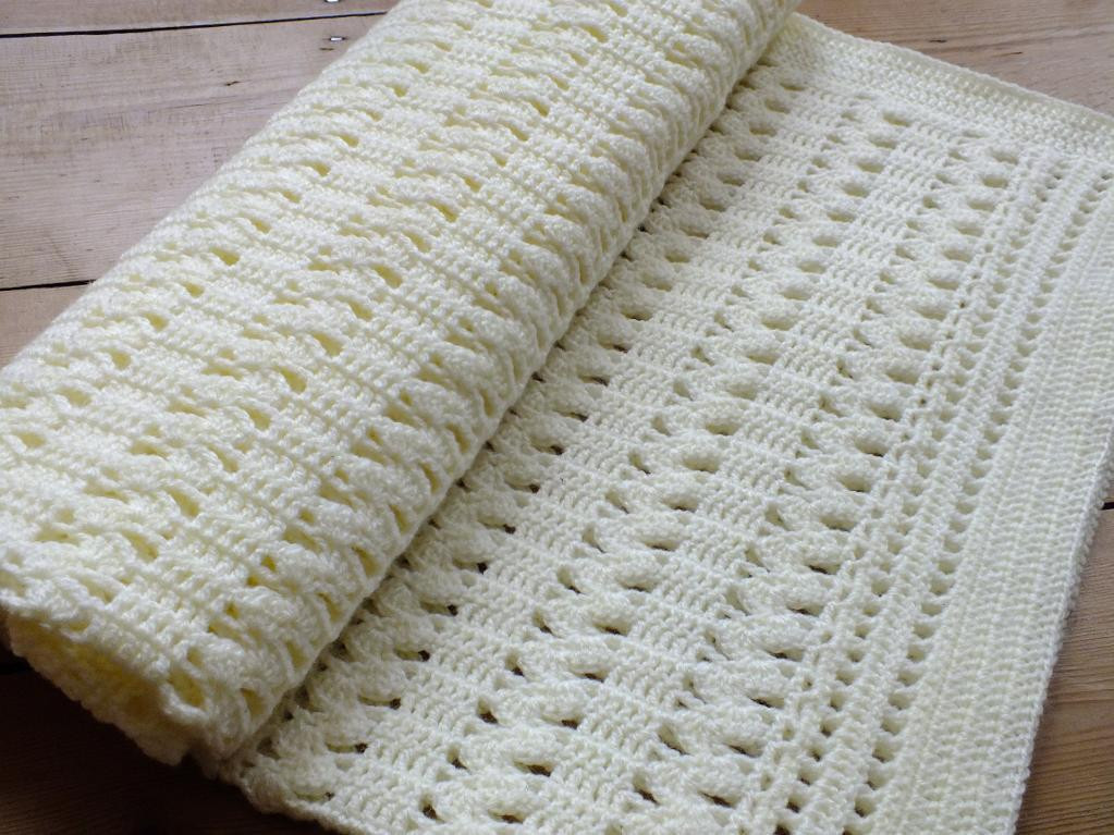 Crochet Blanket Pattern Awesome You Have to See soft Cream Zigzag Crochet Baby Blanket by Of Amazing 48 Ideas Crochet Blanket Pattern