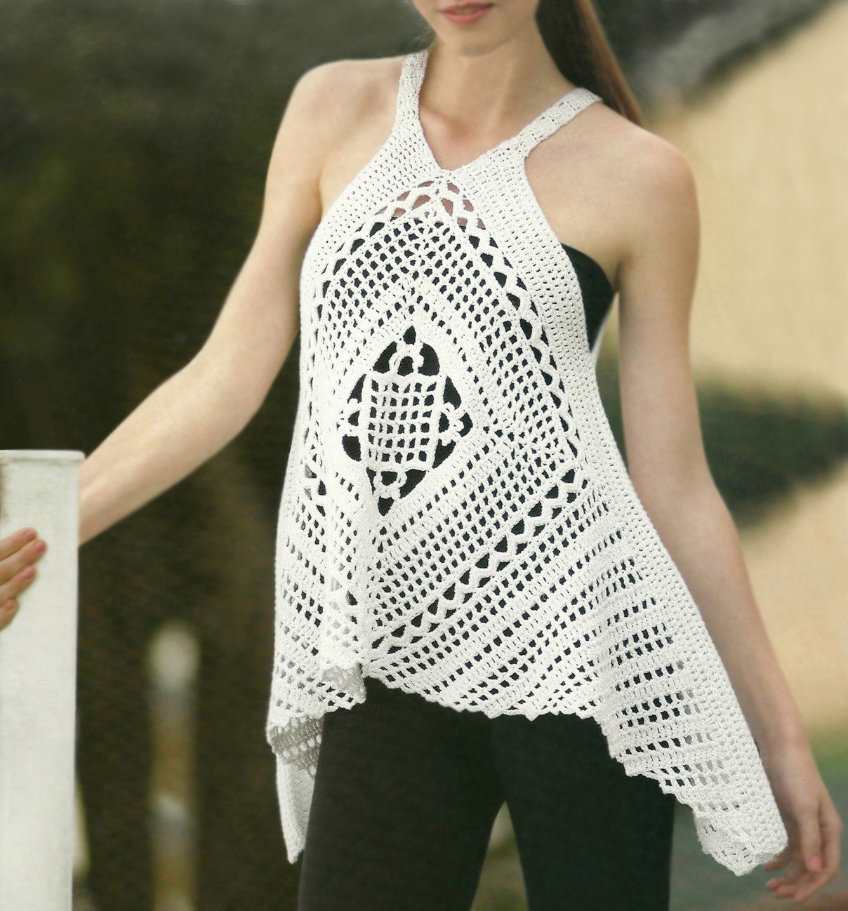 Crochet Blouse Pattern Fresh Crochet top Pattern Detailed Instructions In English for Of Unique 49 Ideas Crochet Blouse Pattern