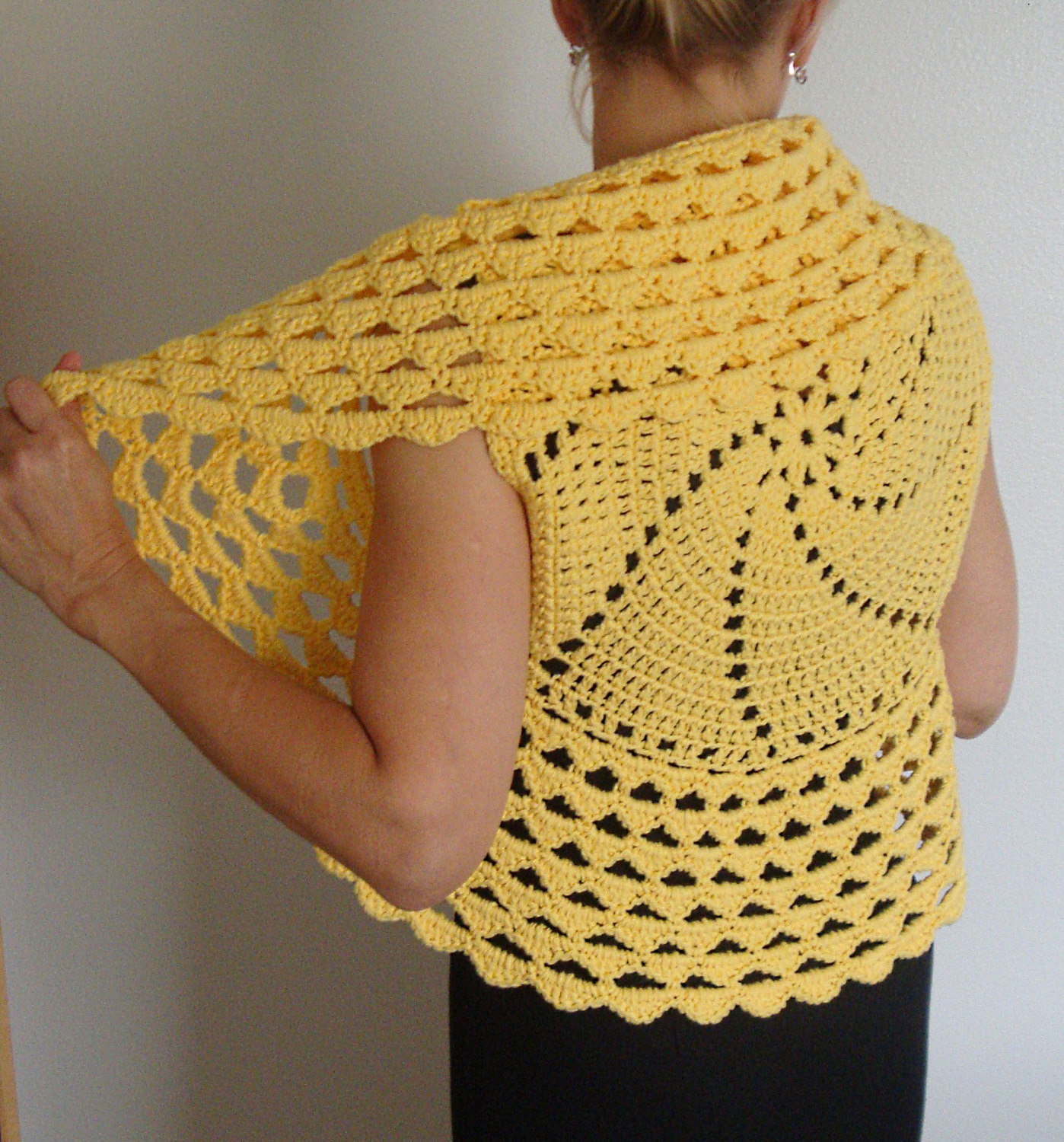 Crochet Boleros Patterns Best Of Crochet Pattern Circle Vest Shrug Pdf Digital Crochet Of Amazing 41 Ideas Crochet Boleros Patterns