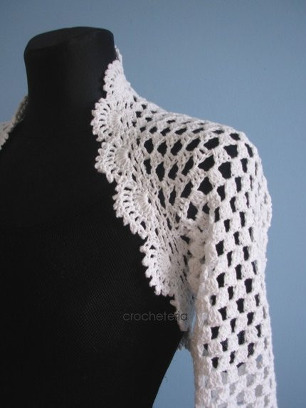 Crochet Boleros Patterns Fresh Free Bed Jacket and Shrug Pattern to Knit or Crochet Of Amazing 41 Ideas Crochet Boleros Patterns