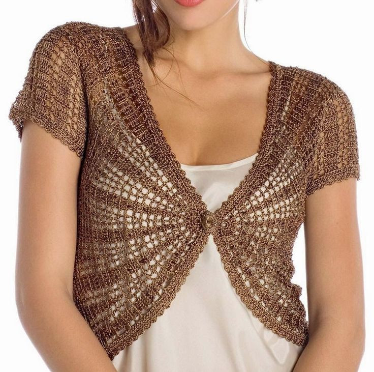Crochet Boleros Patterns Lovely Best 25 Bolero Pattern Ideas On Pinterest Of Amazing 41 Ideas Crochet Boleros Patterns