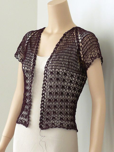 Crochet Boleros Patterns Lovely Lace Crochet Bolero Pattern by Doris Chan Of Amazing 41 Ideas Crochet Boleros Patterns