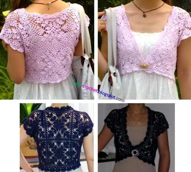 Crochet bolero pattern free plus more worth looking