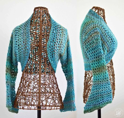 Crochet Boleros Patterns New Lightweight No Seam Shrug Free Crochet Pattern Of Amazing 41 Ideas Crochet Boleros Patterns