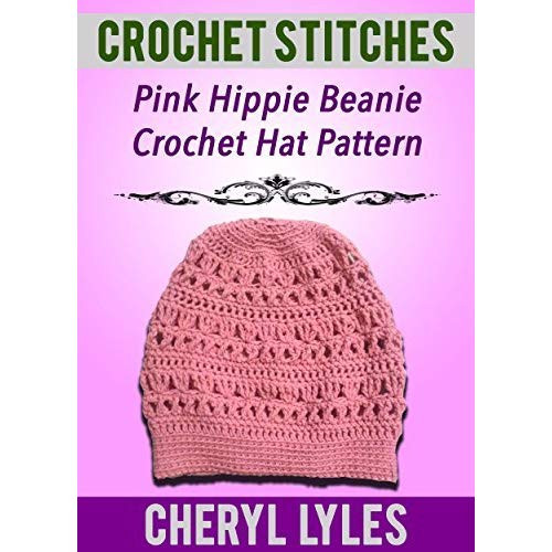 Crochet Books for Beginners Best Of Crochet Stitches Pink Hippie Beanie Crochet Hat Pattern Of Unique 40 Pictures Crochet Books for Beginners