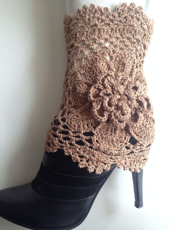Crochet Boot Cuffs Pattern Awesome 503 Best Romantic Style Shoes Boots and Spats Images On Of Charming 40 Pics Crochet Boot Cuffs Pattern