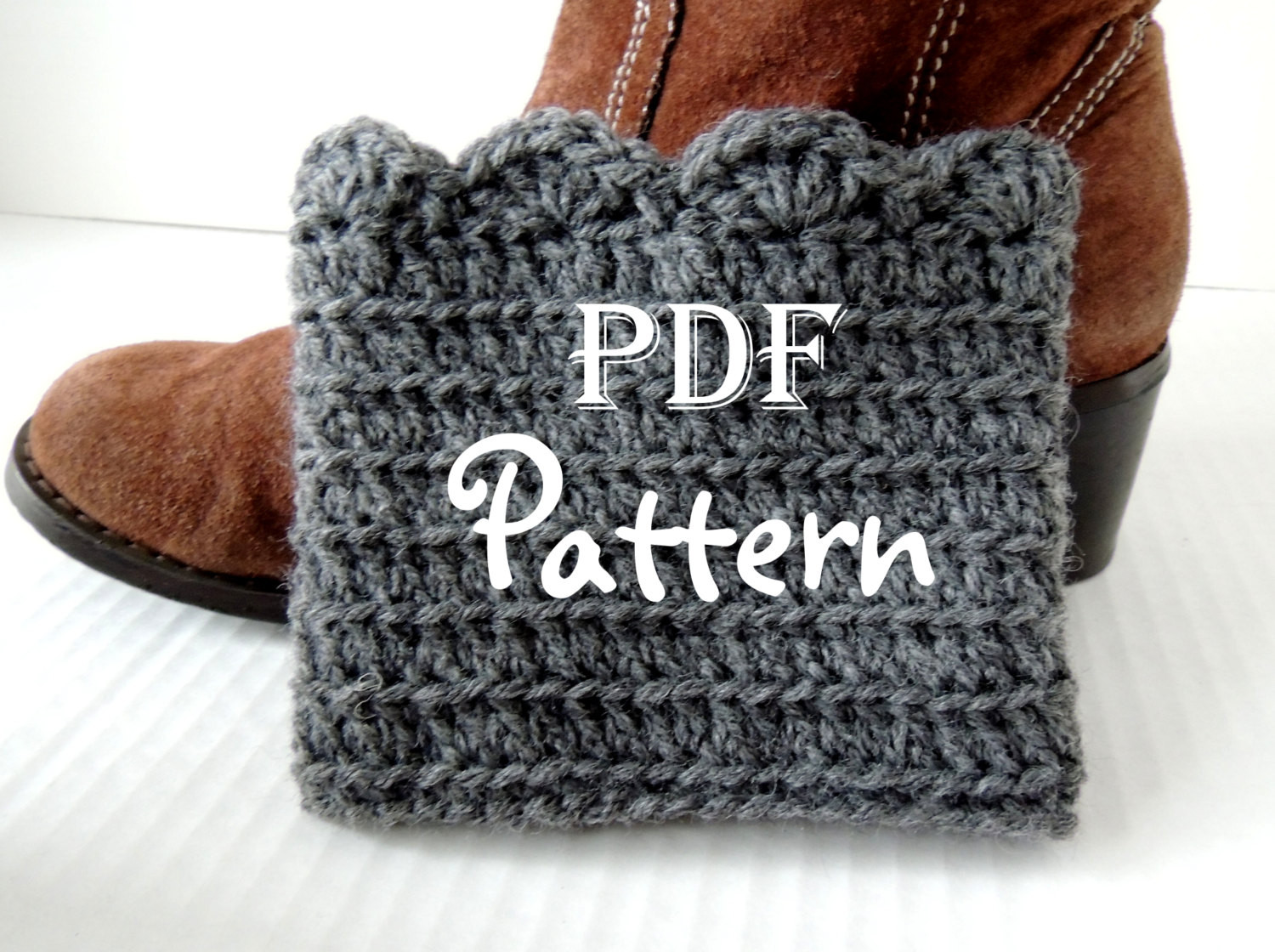 Crochet Boot Cuffs Pattern Unique Pdf Crochet Pattern Make It Yourself Pattern for Of Charming 40 Pics Crochet Boot Cuffs Pattern
