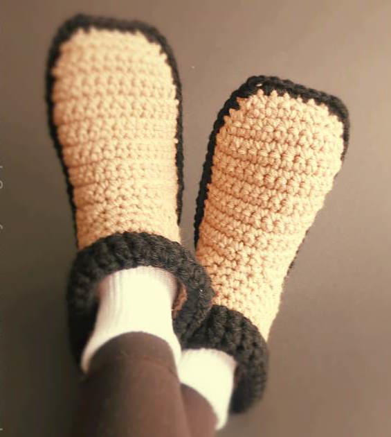 Crochet Booties for Adults Awesome Easy Crocheted Adult Slippers Of Delightful 42 Models Crochet Booties for Adults