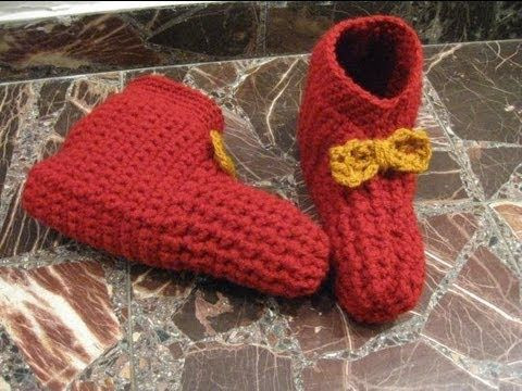 Crochet Booties for Adults Beautiful Simple Crocheted Booties Adult Crochet Booties Of Delightful 42 Models Crochet Booties for Adults
