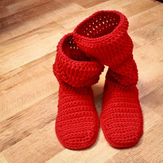 Crochet Booties for Adults Best Of Crochet Slipper Pattern Mamachee Boots Adult Women Sizes Of Delightful 42 Models Crochet Booties for Adults