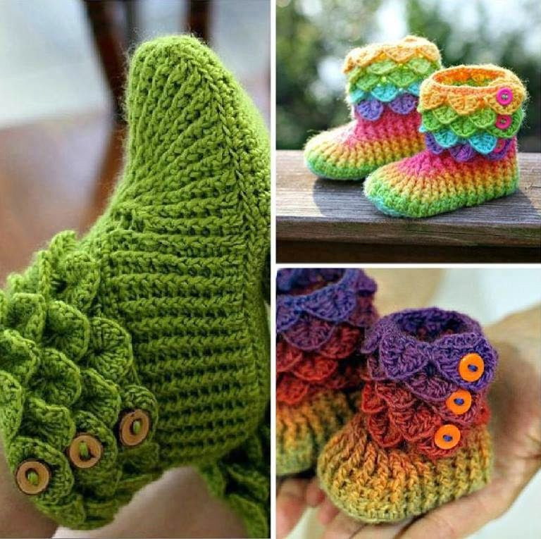 Crochet Booties for Adults Inspirational Adorable Crocodile Stitch Crochet Booties Pattern Of Delightful 42 Models Crochet Booties for Adults