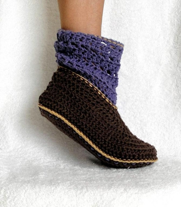 Crochet Booties for Adults New Crocheting Adult and Kids Cuffed Boots Pattern 12 Of Delightful 42 Models Crochet Booties for Adults