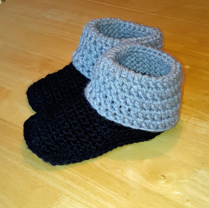Crochet Booties for Adults Unique Crochet Slippers Adult Wool Slippers Indoor Slippers Warm Of Delightful 42 Models Crochet Booties for Adults