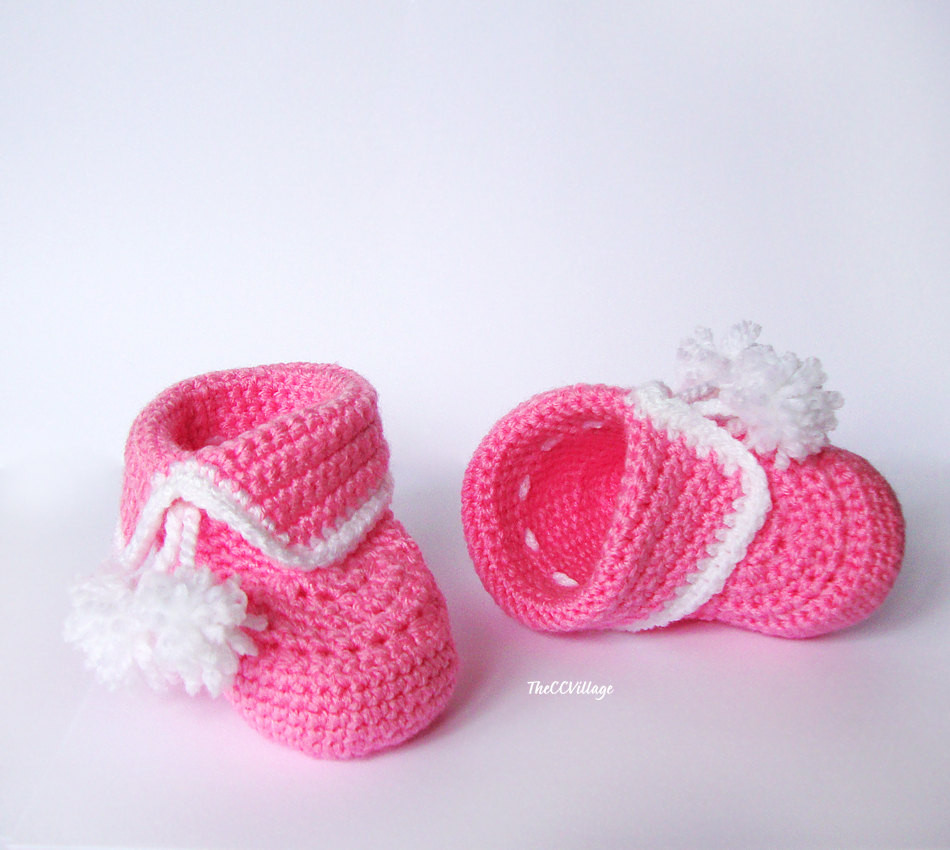 Crochet Booties for Baby Girl Awesome Crochet Baby Booties Baby Girl Booties Shoes In Pink and Of Attractive 44 Models Crochet Booties for Baby Girl