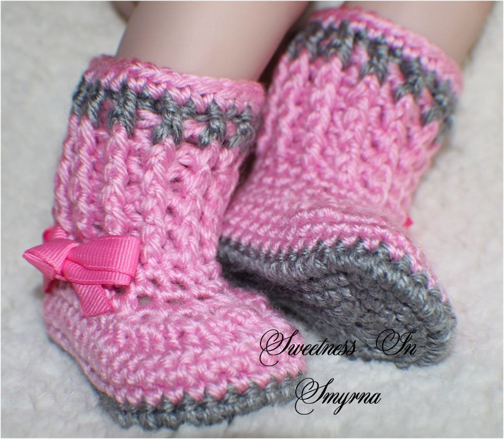 Crochet Booties for Baby Girl Awesome Crochet Baby Booties Baby Shoes Baby Girl by Of Attractive 44 Models Crochet Booties for Baby Girl