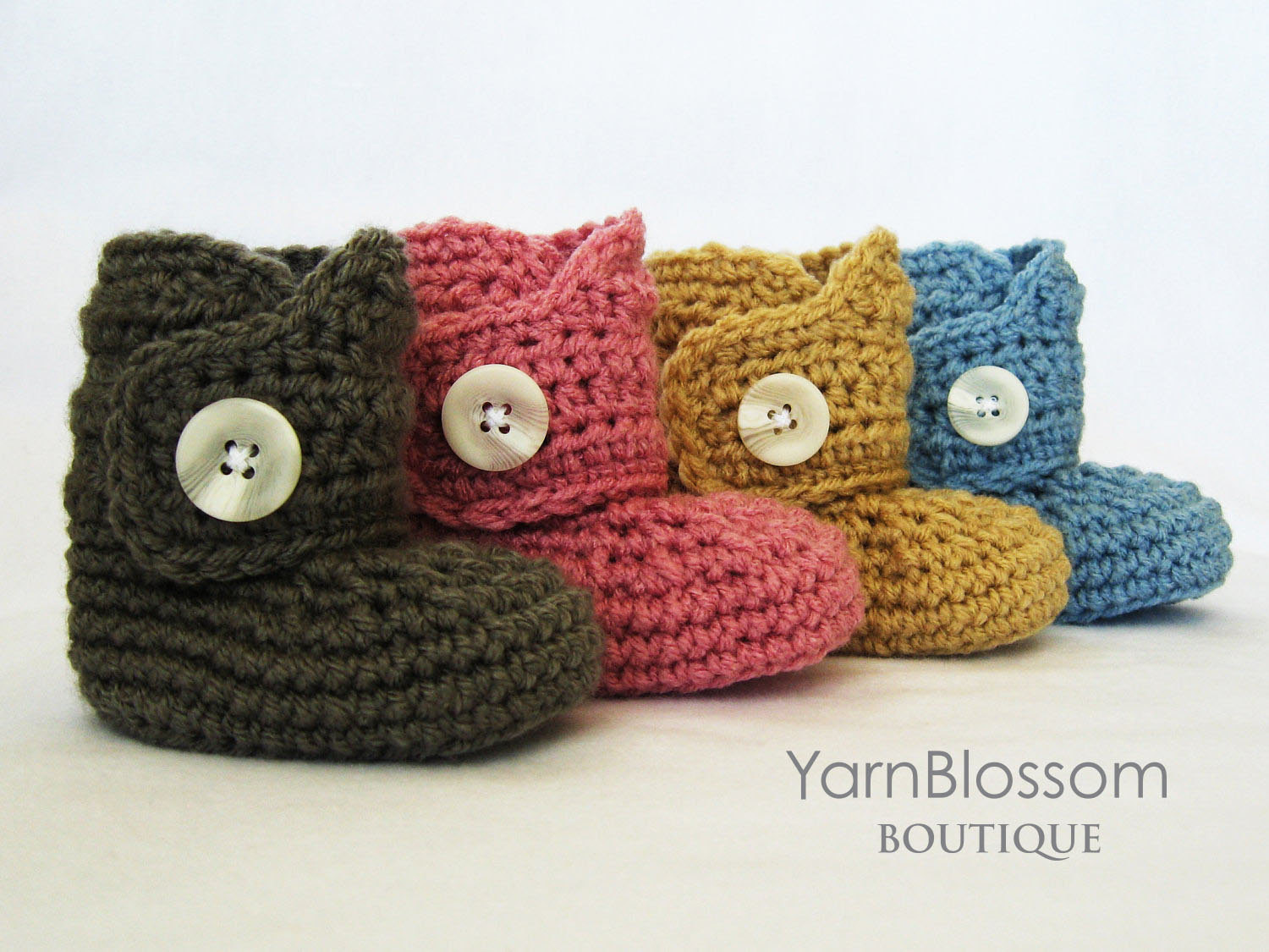 Crochet Booties Lovely Pdf Pattern Baby button Boots Crochet Booties Crochet Of Wonderful 43 Pics Crochet Booties