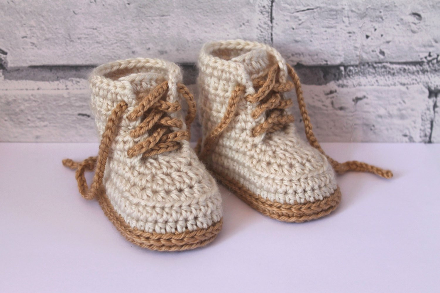 Crochet Shoes Pattern for Baby Boys bat Boot