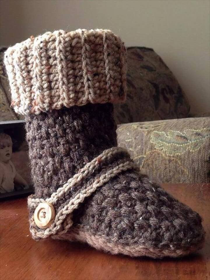 Crochet Boots Lovely 30 Easy Fast Crochet Slippers Pattern Of Brilliant 43 Photos Crochet Boots