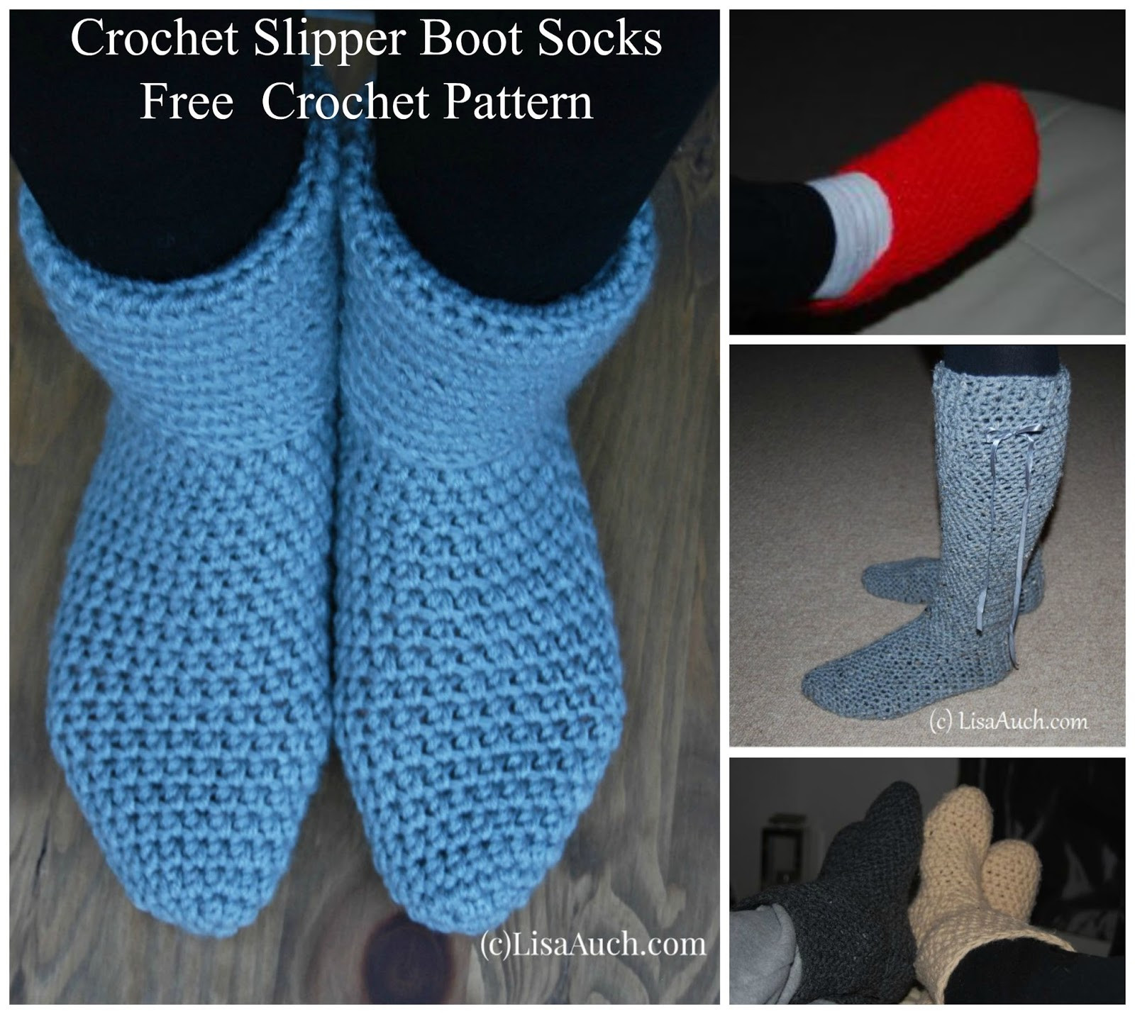 Crochet Boots Pattern Free Inspirational Free Crochet Patterns and Designs by Lisaauch Crochet Of Amazing 44 Models Crochet Boots Pattern Free