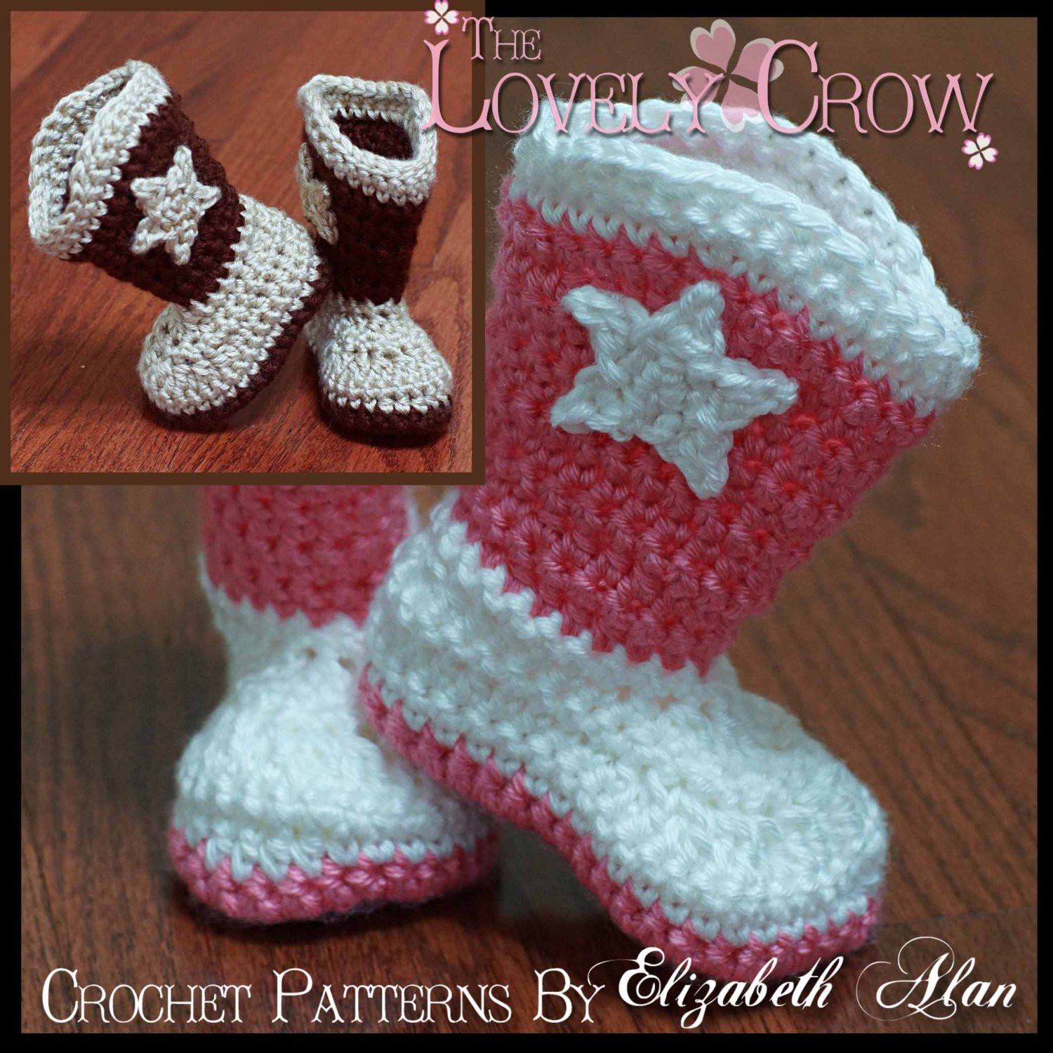Crochet Boots Pattern Free Unique Crochet Pattern Cowboy Boots toddler Boot Scootn Boots Of Amazing 44 Models Crochet Boots Pattern Free