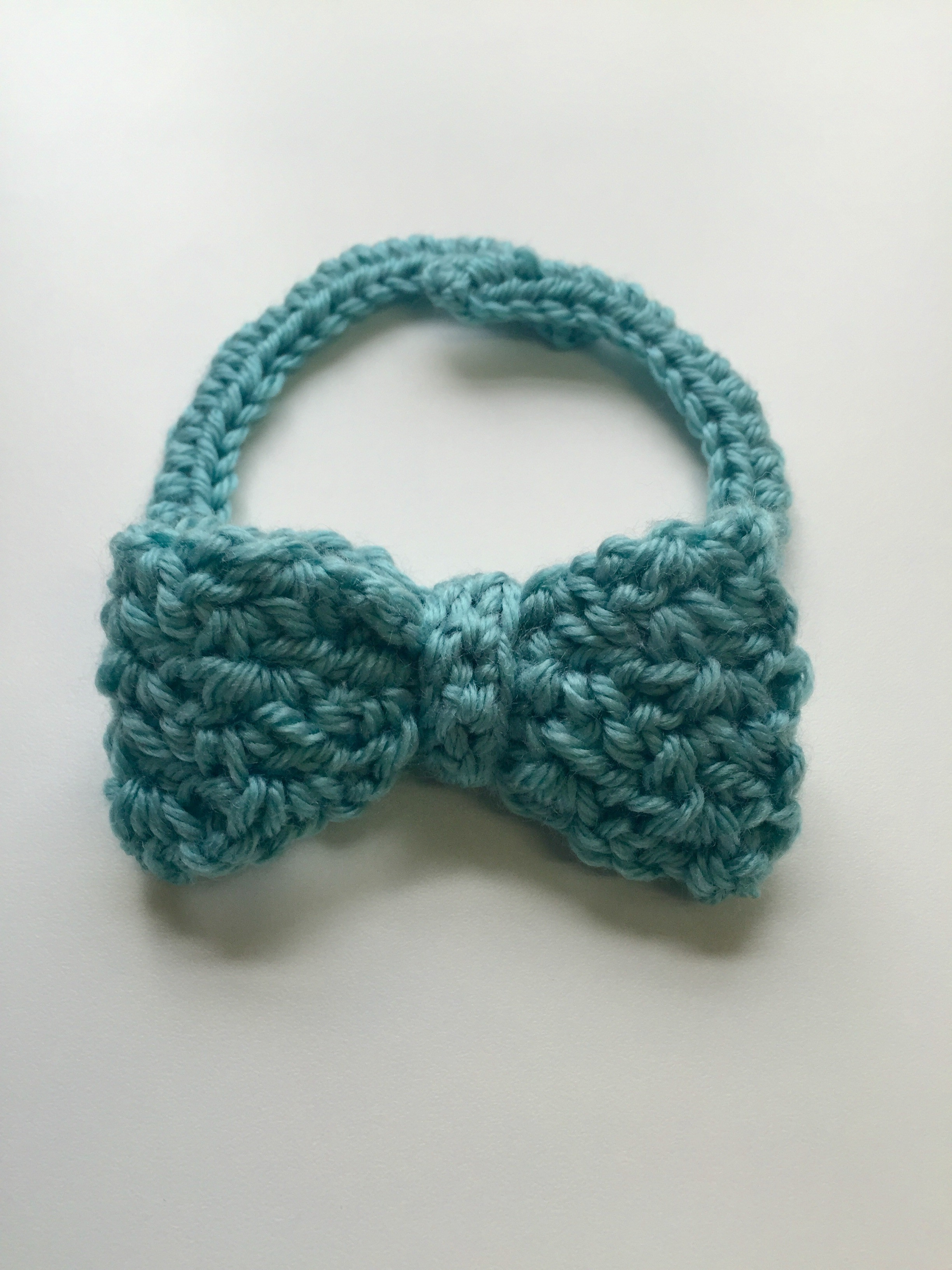 crochet pattern bow tie for babies boys and men