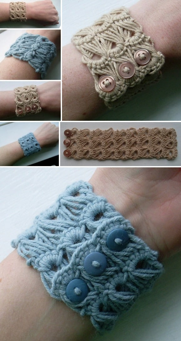 Crochet Bracelets Lovely 25 Free Crochet Bracelet Patterns for Beginners Patterns Hub Of Innovative 40 Images Crochet Bracelets