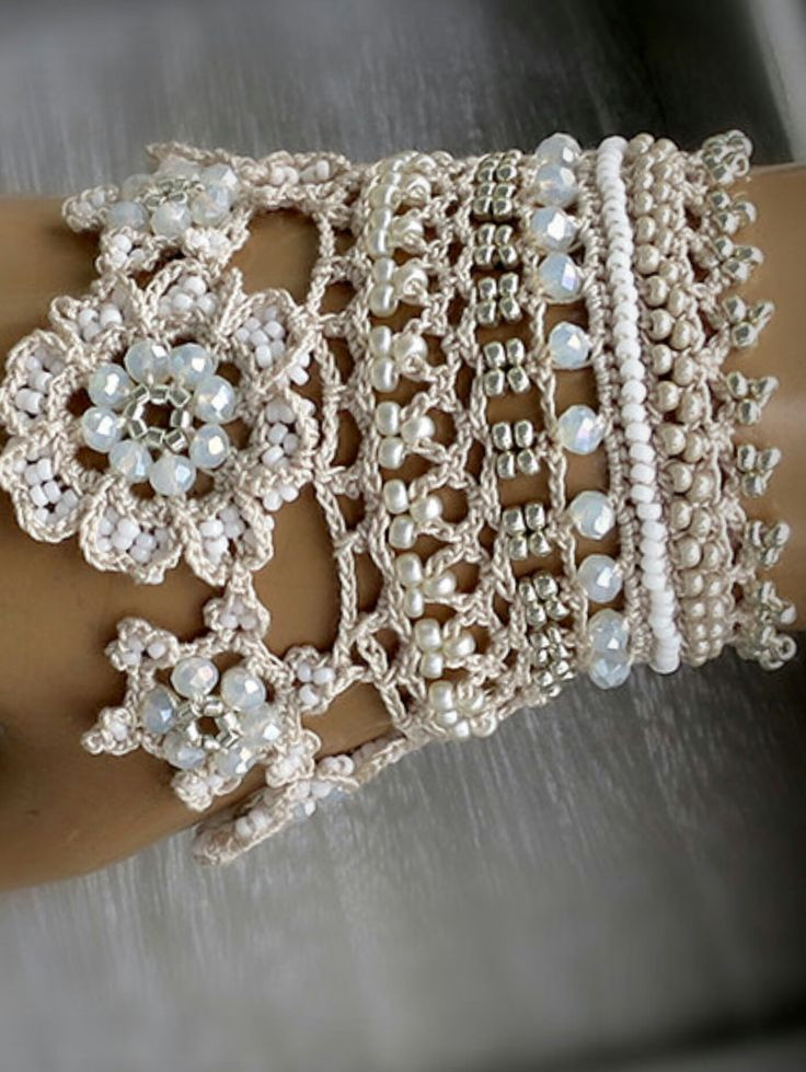 Crochet Bracelets Luxury 468 Best Images About Bracelets On Pinterest Of Innovative 40 Images Crochet Bracelets