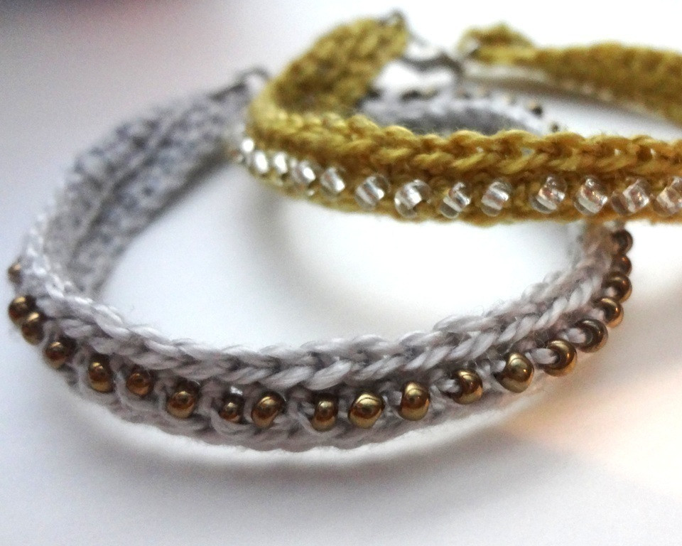 Crochet Bracelets New Crochet Seed Bead Bracelet · How to Braid A Braided Bead Of Innovative 40 Images Crochet Bracelets