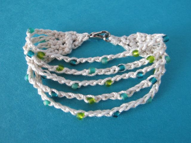 Crochet Bracelets New Wind Rose Fiber Studio Summer Cotton Crocheted Bracelet Of Innovative 40 Images Crochet Bracelets