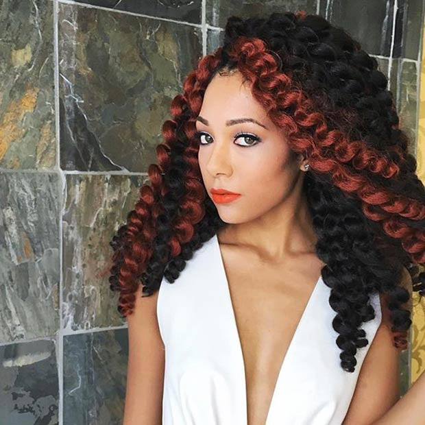 Crochet Braiding Styles Lovely 41 Chic Crochet Braid Hairstyles for Black Hair Of Attractive 48 Images Crochet Braiding Styles