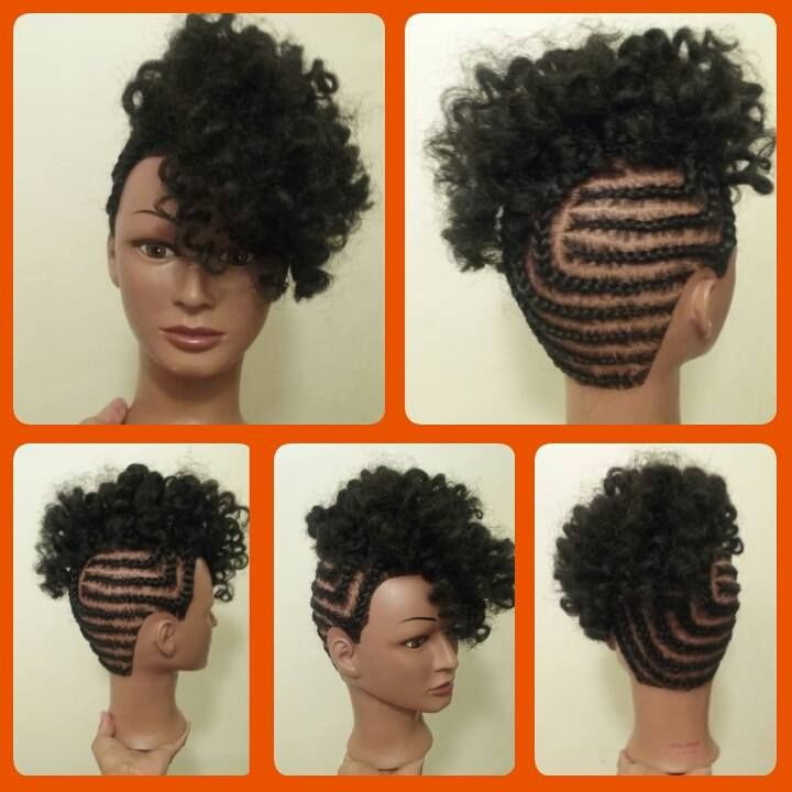 Crochet Braids Updo Unique Braided Updo with Crochet Braids Of Lovely 49 Pics Crochet Braids Updo