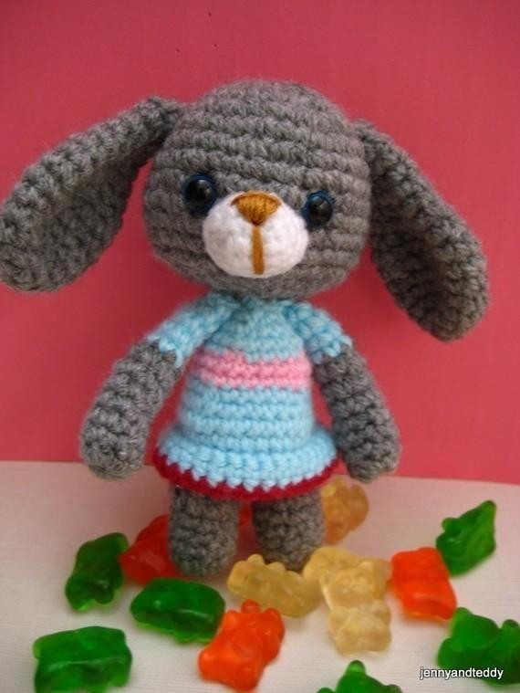 Craftdrawer Crafts Free Crochet Rabbit and Bunny Patterns