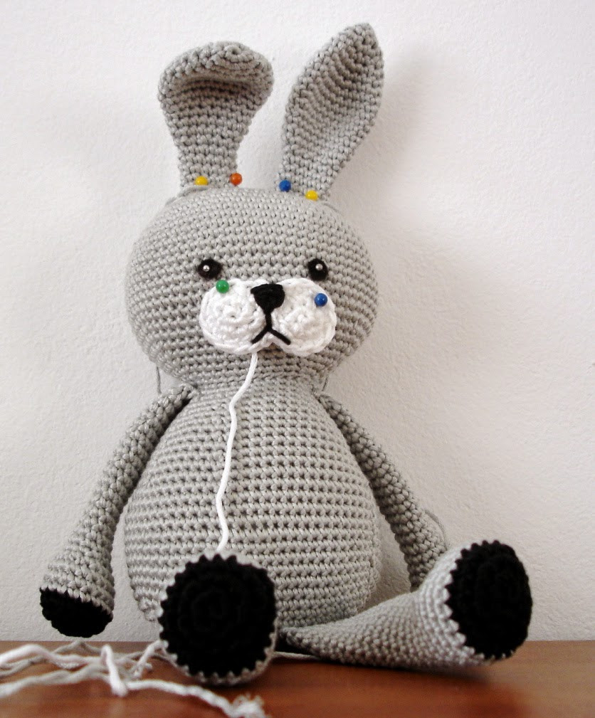 The Cutest Bunny Rabbit Free Crochet Patterns